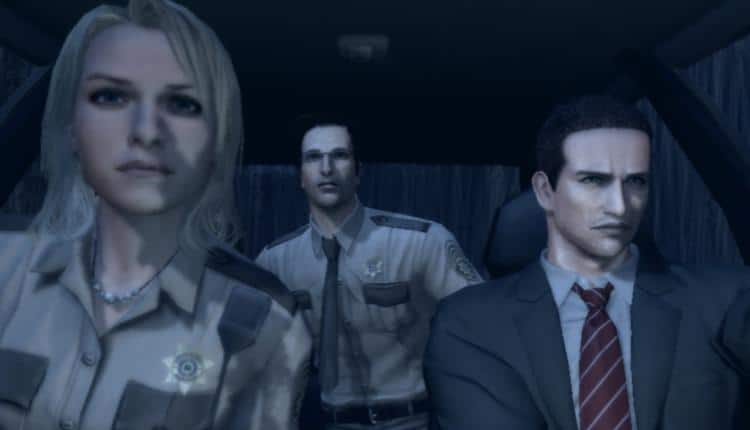 A screenshot of Deadly Premonition gameplay