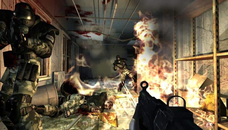 A screenshot of Fear gameplay