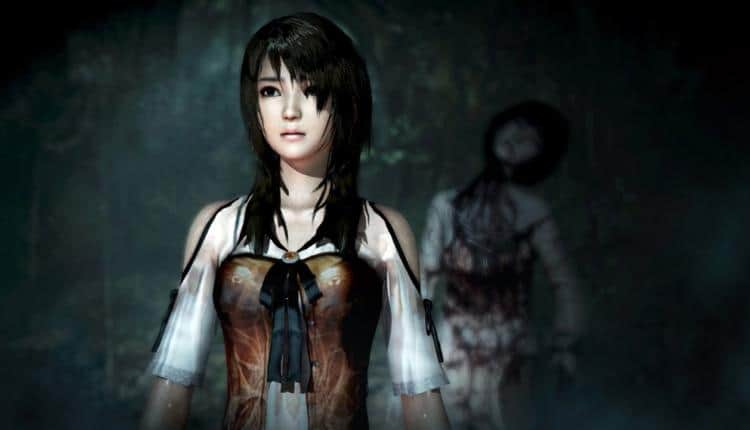 A promotional image for Fatal Frame