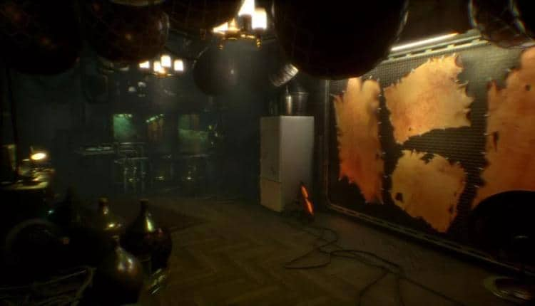 A screenshot of Observer gameplay