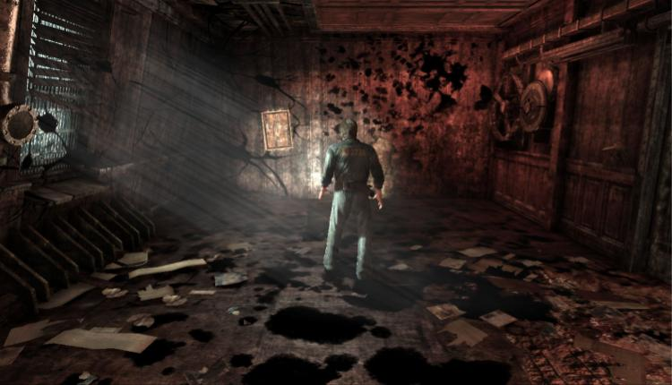 A screenshot of Silent Hill 2 gameplay