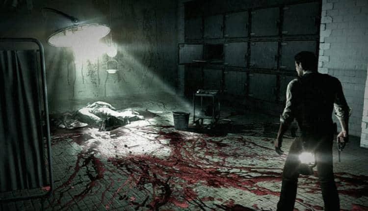 A screenshot of The Evil Within gameplay