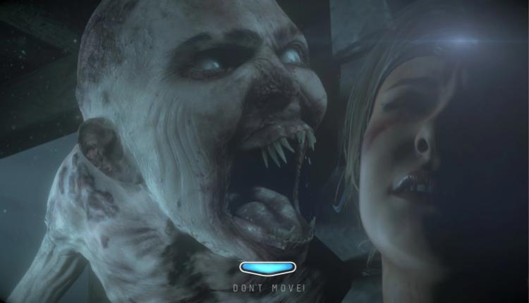 A screenshot of Until Dawn gameplay