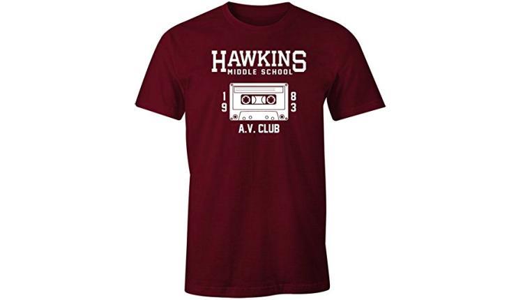 Hawkins AV Club Men's Tee