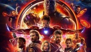 Movie poster for Avengers Infinity War