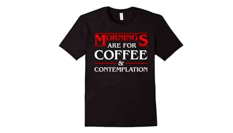 Coffee and Contemplation Unisex Tee