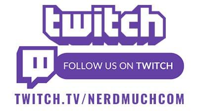 Follow us on twitch