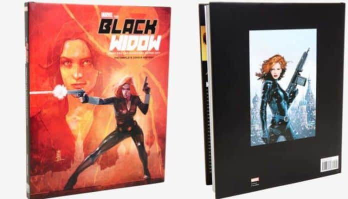 the black widow: creating the avenging super-spy book