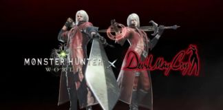 Capcom is bringing Dante into Monster Hunter: World to celebrate the release of the Devil May Cry: HD Collection.