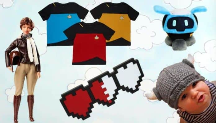 nerdy baby clothes