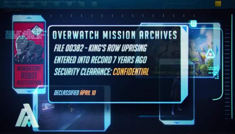 Overwatch Uprising Event Returns In April Nerd Much
