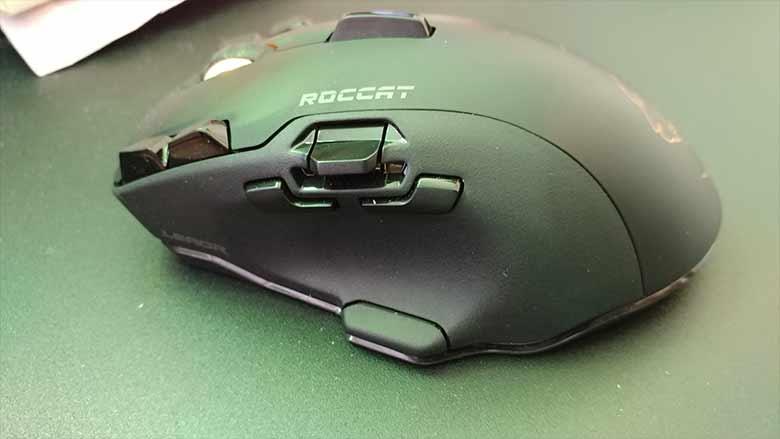 Roccat leadr review buttons