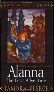 Song of the Lioness (and the rest of the Tortall books) by Tamora Pierce