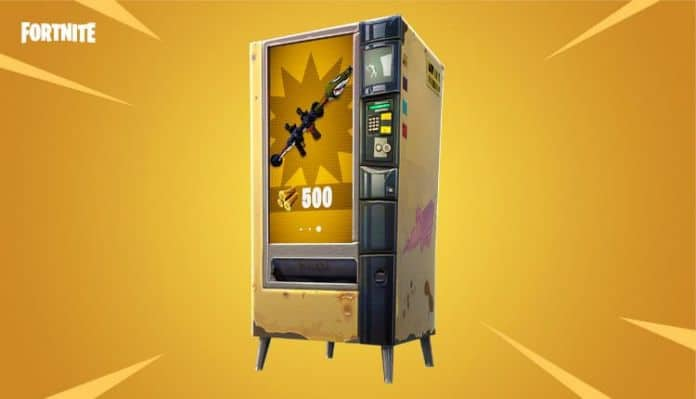 The 3.4 Content Update for Fortnite is going live. It brings Vending Machines as well as High Explosives v2 to Battle Royale.