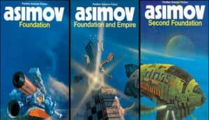 Apple is now developing a series based upon the 1950's trilogy of Foundation books by Isaac Asimov.