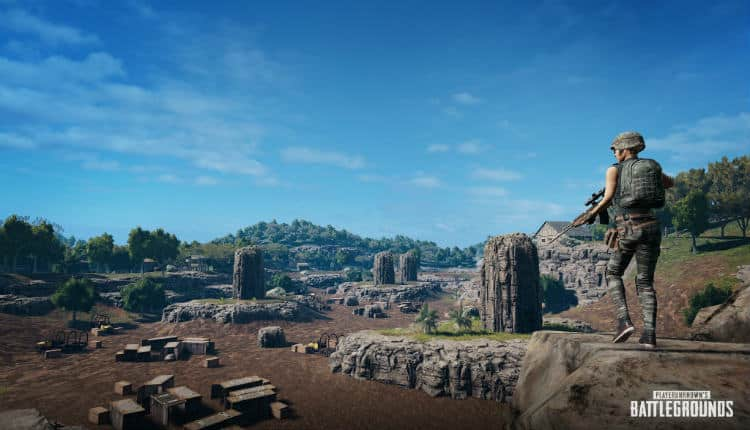 PUBG Codename: Savage Map Getting Cave System