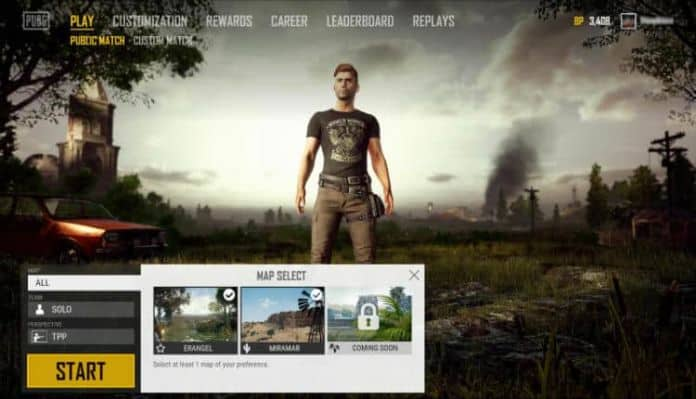PUBG Corp. has announced that a map selection feature is coming to PUBG