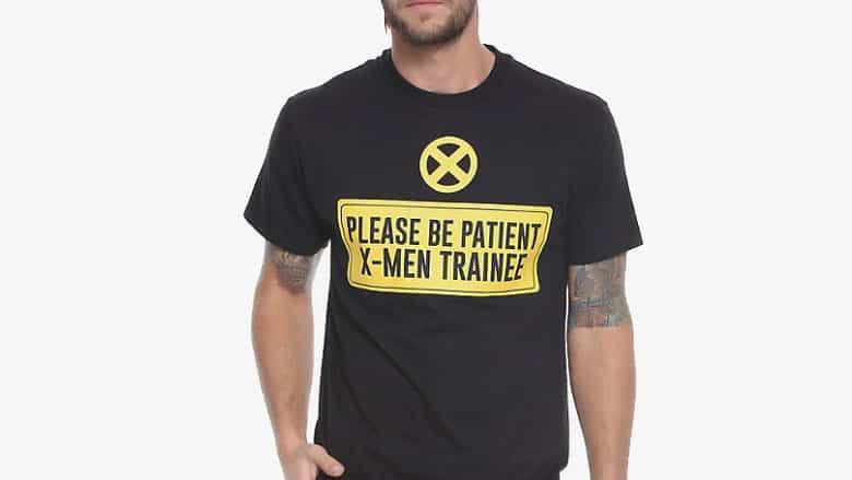 deadpool x-men trainee t-shirt