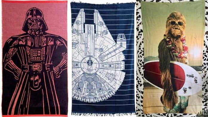 star wars beach towels