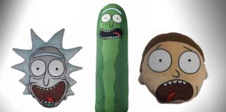 rick and morty cushions