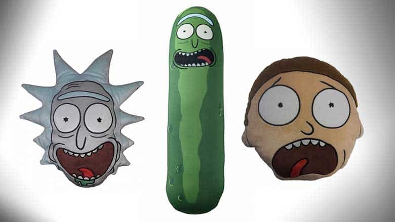 Rick and Morty Cushions – $21.99