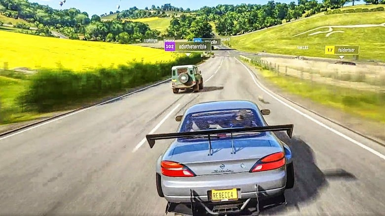 new forza horizon 4 gameplay hits via playground. Black Bedroom Furniture Sets. Home Design Ideas