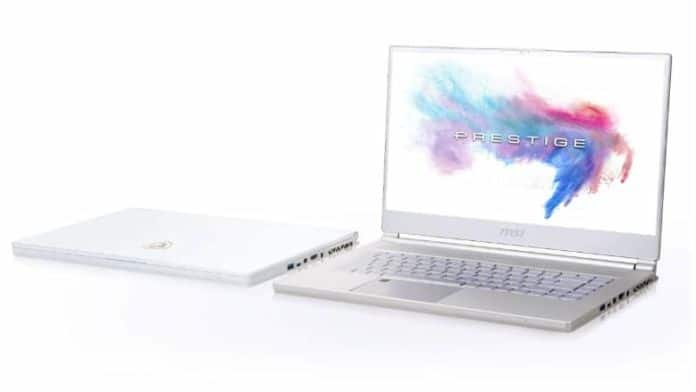MSI P65 notebook