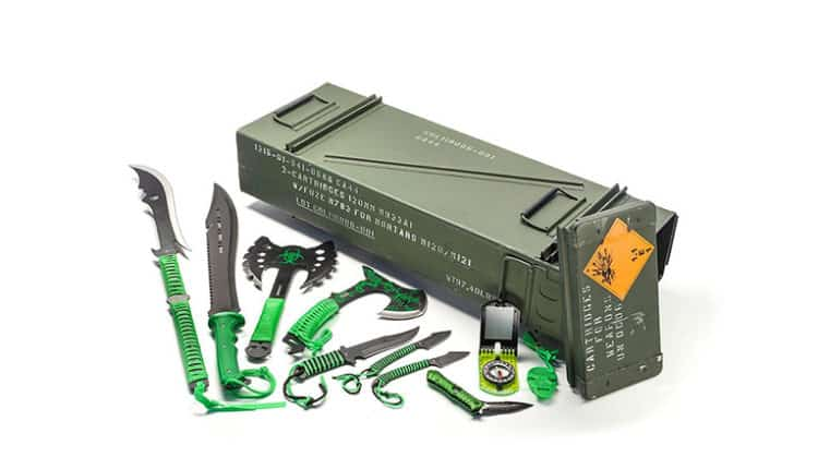 Acme Crate Zombie Warrior Kit