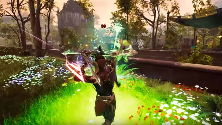 Ashes of Creation action combat