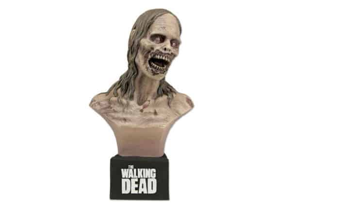 The Walking Dead Bicycle Girl Bust