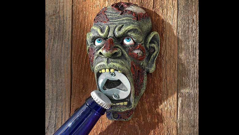 Zombie Brew Biter Bottle Opener by Design Toscano