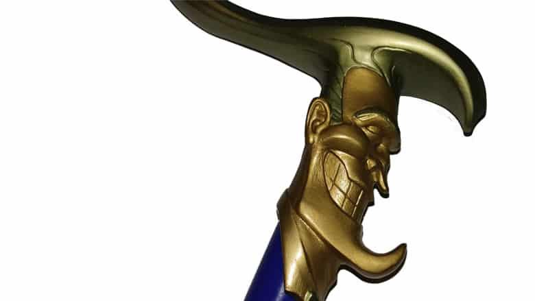 joker cane prop replica