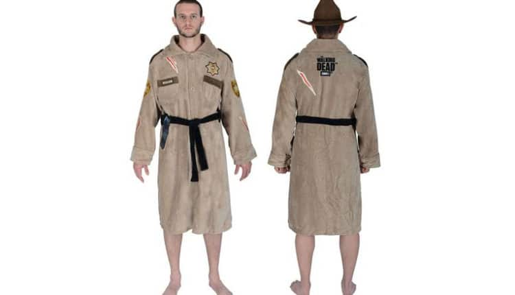 The Walking Dead Rick Grimes Bath Robe