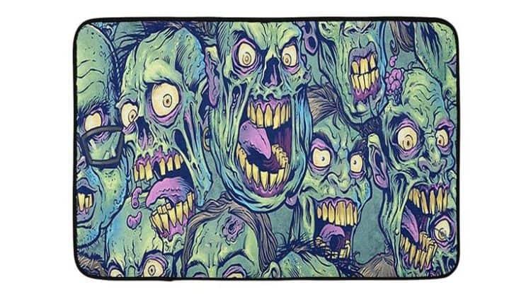 Zombie Bath Mat by PopBYAM