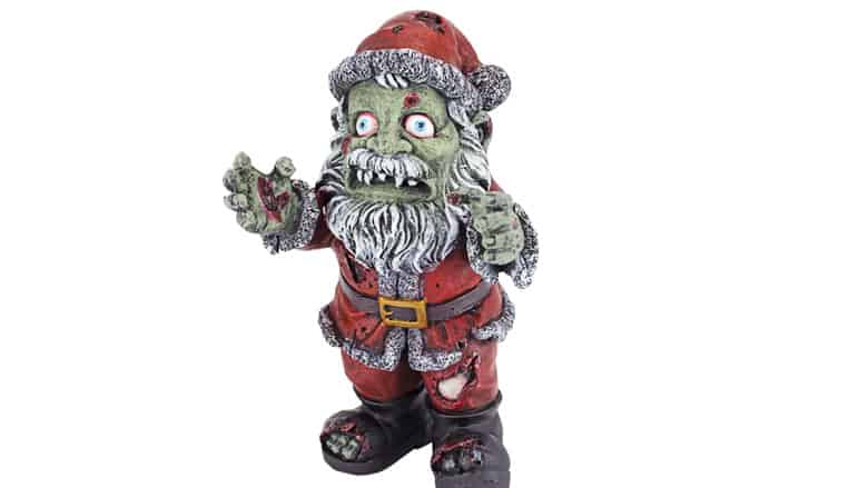 Zombie Claus Holiday Figure