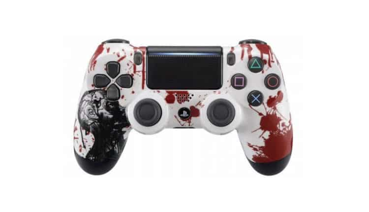 Zombie Modded PS4 Controller