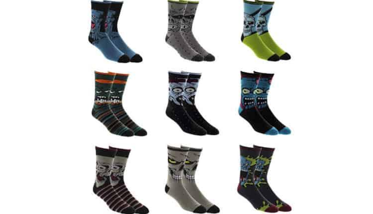 Zombie Socks (9-pack)