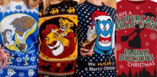 Disney Christmas Sweaters Available Now