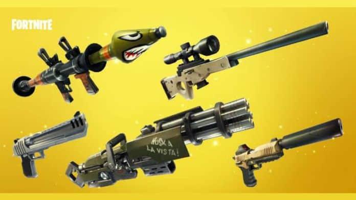 Fortnite Nerf blasters