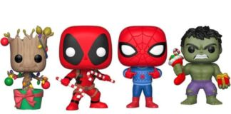 Marvel Holiday Pop Vinyl Figures