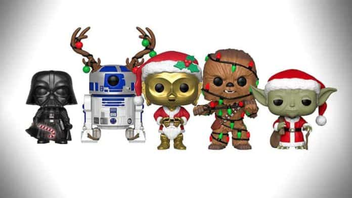 Star Wars Holiday Funkos
