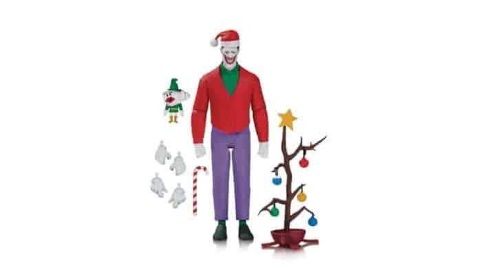 Batman: The Animated Series Joker Christmas Action Figure