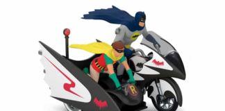 Batman Batcycle Christmas Ornament