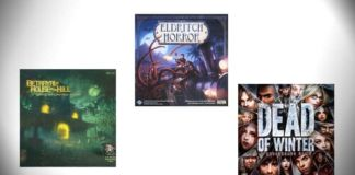 best horror board games
