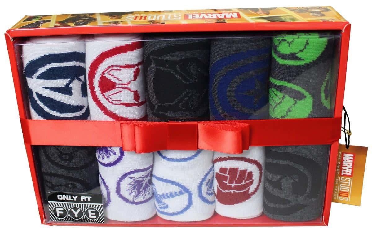 61 Marvel The First 10 Years Sock Box 3499