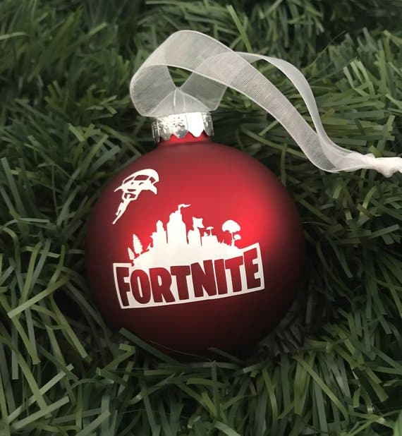 8 Best Fortnite Christmas Ornaments Available Right Now 2018
