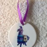 Fortnite Llama Ornament