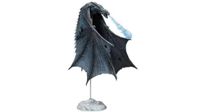 Game of Thrones Viserion Ice Dragon Figure