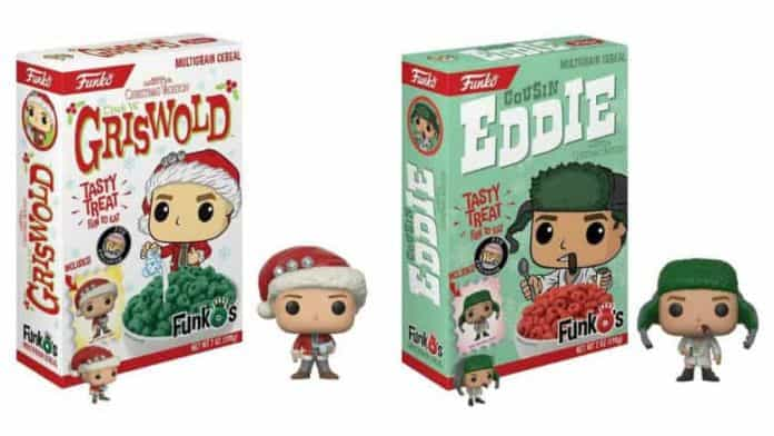 Christmas Vacation Funko Cereal