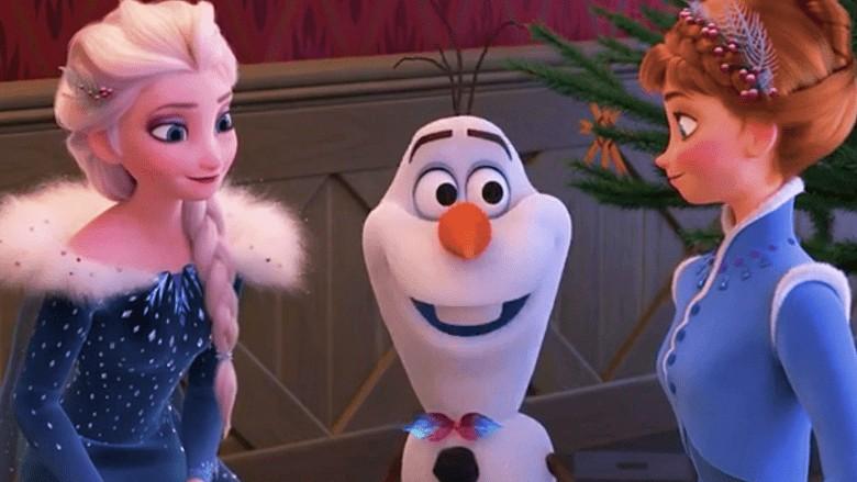 Frozen w/Elsa, Snowman